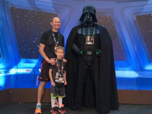 Christopher Vader, Noah Vader, and Darth Vader